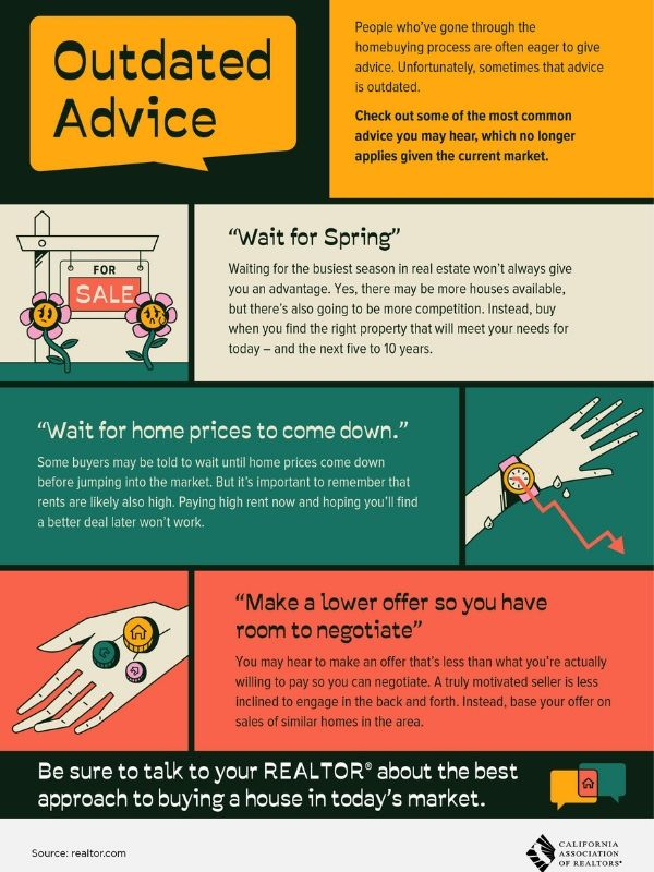 outdated realestate advice