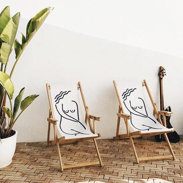 artsy sling chair