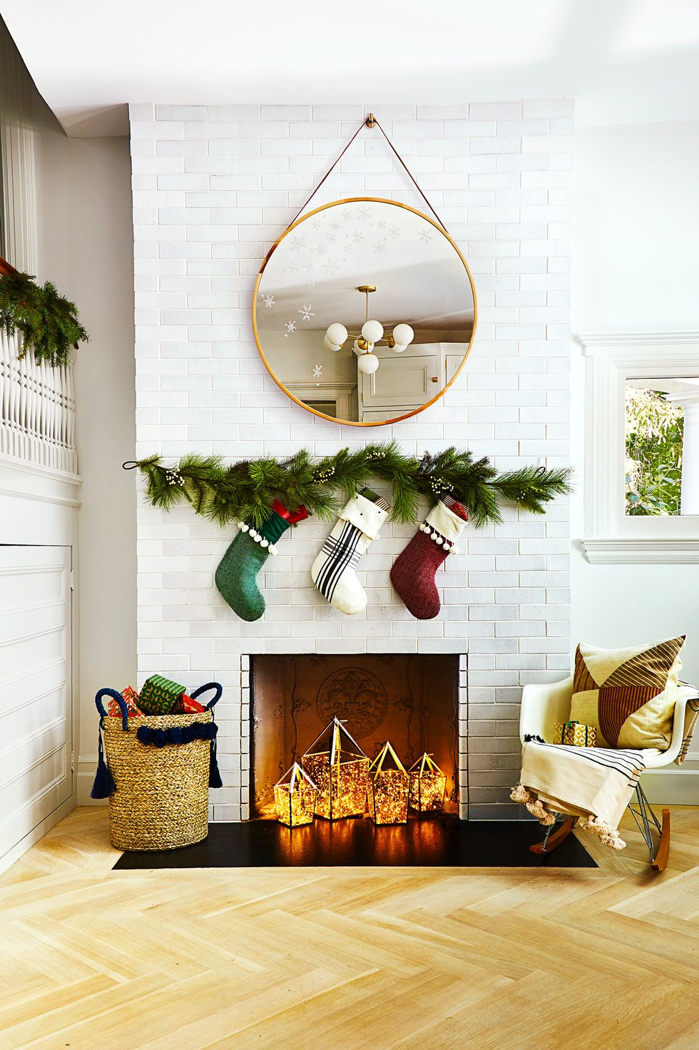 Holiday Decors to Inspire You Fake Fireplace
