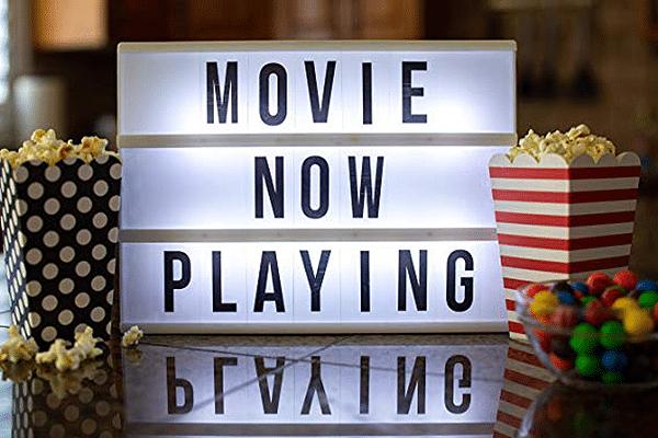 Cinema Light Box for Movie Lovers