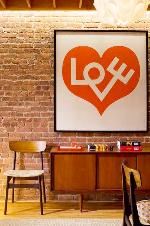 Valentine's Day Inspired Home Ideas-love-poster