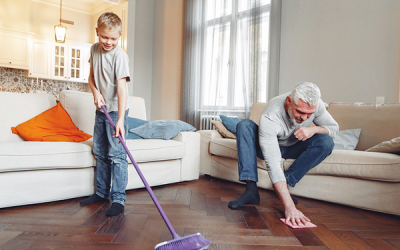 Spring Cleaning on a Shoestring Budget