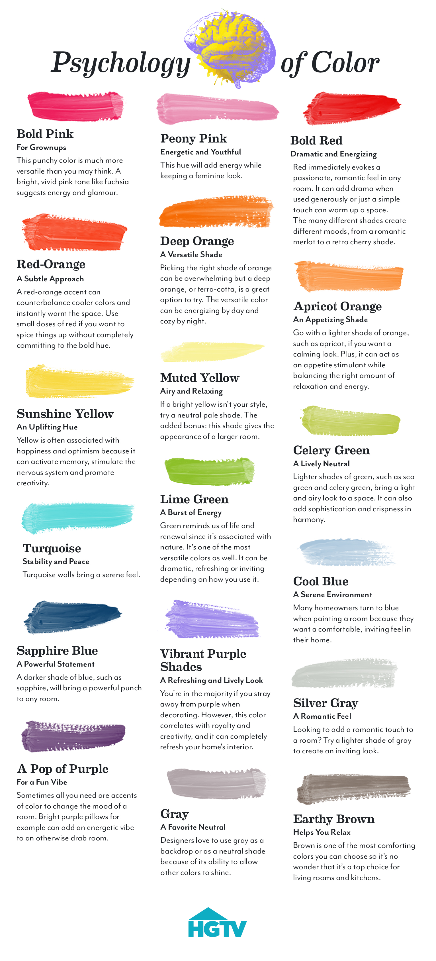 Make Your Home a Happier Place with Color Psychology