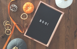 Minimalist Halloween Decor Ideas