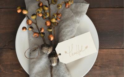 Effortless Thanksgiving Home Decor