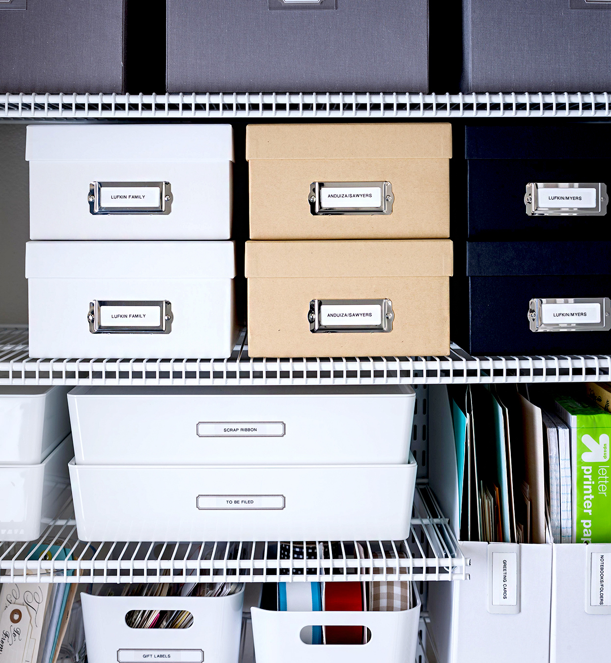 Set up a filing system