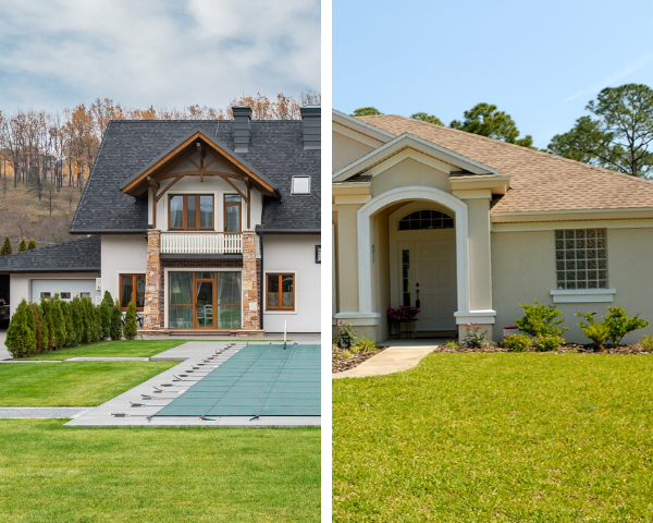 low end or luxury real estate investing